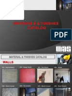 MATERIALS & FINISHES CATALOG 2014
