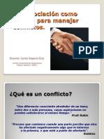 Conflicto y Negociación en El Equipo