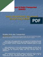Materi 3 Struktur Perkotaan vs Transportasi