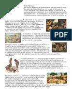 La Prehistoria y La Evolución Del Hombre