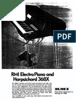 RMI 368X Service Manual