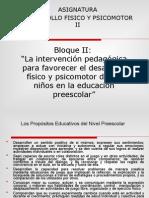 (502862498) El Desarrollico y Psicomotor y La Interv II