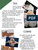 Minerales Benefactores en Chile