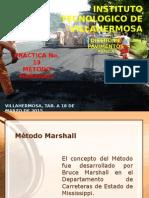Prueba Marshall