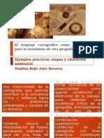 Exposicion Profe Felipe Cartografia