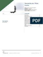 Piñón Conico-Análisis Estático 1-1