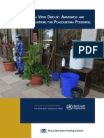 Ebola Virus Disease - Precautions for Peacekeeping Personnal