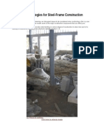 Firefighting Strategies for Steel-Frame Construction