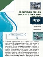 Seguridad en Las Aplicaciones Web (OWASP) Completa