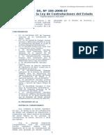 DS. N 184-2008-EF - Reglamento de La Ley de Contrataciones Del Estado