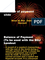 Balance of Payment Slide CAPE ECON