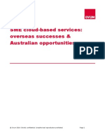 Sme Cloud Based Services Overseas Successes and Ustralian Opportunities Report