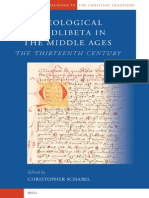 Theological Quodlibeta in the Middle Ages the Thirteenth Century