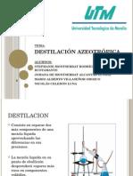 Destilacion Azeotropica