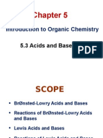 Chapter 5.3 Acids and Bases