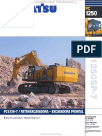 Catalogo Excavadora Hidraulica Pala Pc1250sp 7 Komatsu