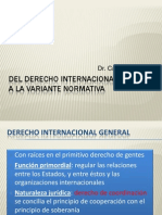 Del Derecho Internacional General a La Variante Normativa - Dr. Calogero Pizzolo (1)
