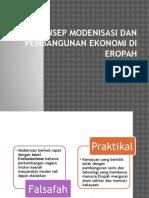 Konsep Modenisasi Dan Pembangunan Ekonomi Di Eropah