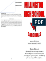 2014-2015 mhs student handbook