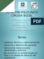 Rotación Policlínico Cirugía Bucal