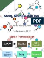 Bab 02 Kimia Dasar - Atom Molekul Dan Ion
