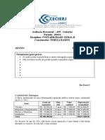 Gabarito AP2 Contabilidade Geral II 2014.1