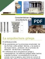 La arquitecturagriega Caractersticas