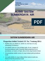 1a Sistem Sumberdaya Air
