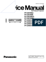 Panasonic Pt-d5700u Service Manual