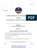 Kedah Trial SPM 2013 English