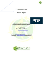 Fee Ee Waste Project Report