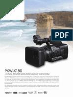 PXW X180 Brochure