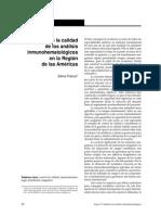 Control de Calidad Analisis Inhmunohematologicos