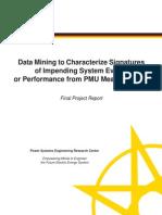 Vittal PSERC Project Report S-44 2013