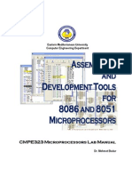 Assemblers and Development Tools for 8086 and 8051 Microprocessors