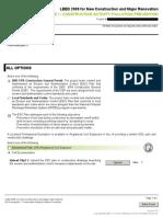 SSp1 LEED Online Sample Form