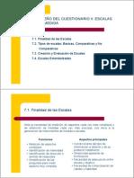 DISEÑO DEL CUESTIONARIO II