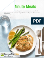 RecipeTin Eats 15 Minute Meals E-Cookbook
