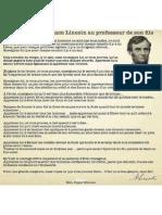 LETTRE D ABRAHAM LINCOLN.pdf