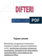 Difteri -handout