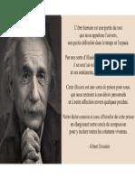 Letre Humain Einstein