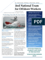 unt supports offshore workers