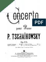 Tchaikovsky Piano Concerto n.1 Bb 2P