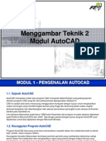 Modul AutoCAD - Menggambar Teknik 2 - 1st (rev  060314).pdf