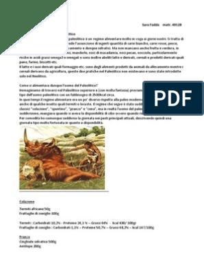 scarica il pdf di paleodieta per atleti