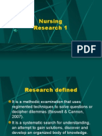 Nursing Research 1