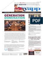 Asbury Park Press front page, Sunday, April 26, 2015