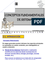 Cap II Introduccion a Los Sistemas I