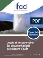 CdR Acces Et Conservation Docs