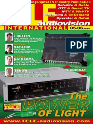 eng TELE-audiovision 1505 | Television | Signal To Noise Ratio